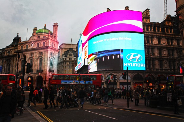 Piccadilly Circus night