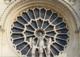 Notre Dame rosone