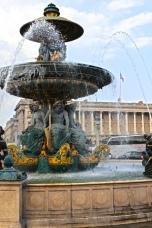 Place de la Concorde - Fontana dei Mari