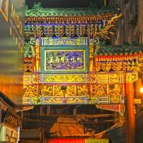 Paifang o arco, nell'antica cina serviva a delimitare le zone delle diverse gerarchie sociali.
