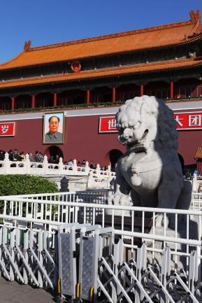Ingresso Città Proibita su Piazza Tienamen