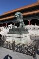 Leone che calpesta una sfera simbolo di supremazia universale dell'impero cinese - ph Manu Nove