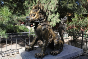 Qilin o Unicorno cinese, simbolo di saggezza e rettitudine - ph Manu Nove