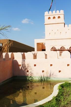 Sultanato dell'Oman. Riproduce una dimora tipica.