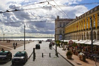 Lisbona Piazza del commercio