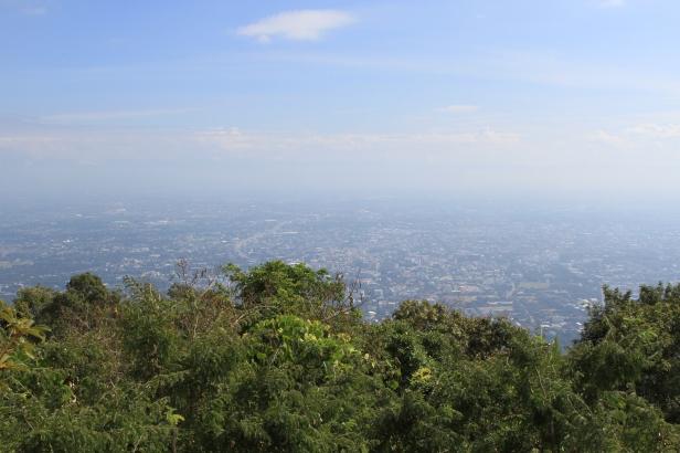 vista dalla montagna