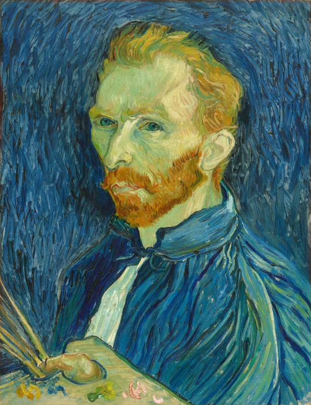 Vincent van Gogh (Dutch, 1853 - 1890), Self-Portrait, 1889, oil on canvas, Collection of Mr. and Mrs. John Hay Whitney 1998.74.5